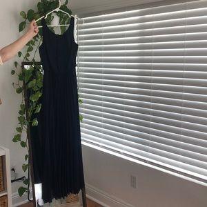long formal dress or prom dress